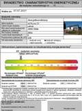wzór świadectwa energetycznego budynku